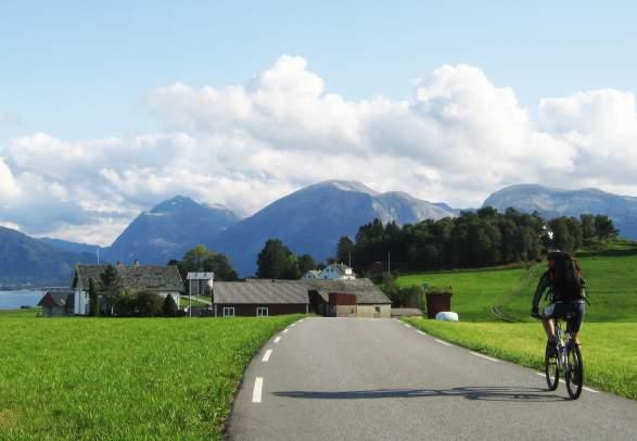 Sunnhordland - mit Fahrrad und Fähre