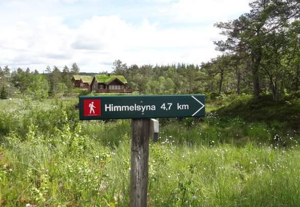 Himmelsyna - return trip 11 km