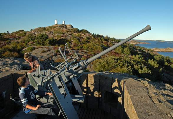 Coastal Fort at Ny-Hellesund