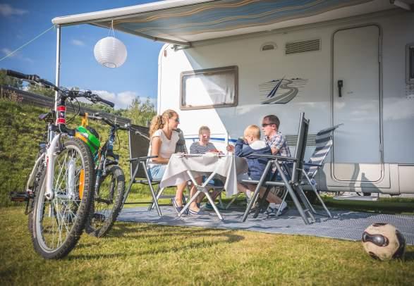 Camping in Hallingdal Holiday Park
