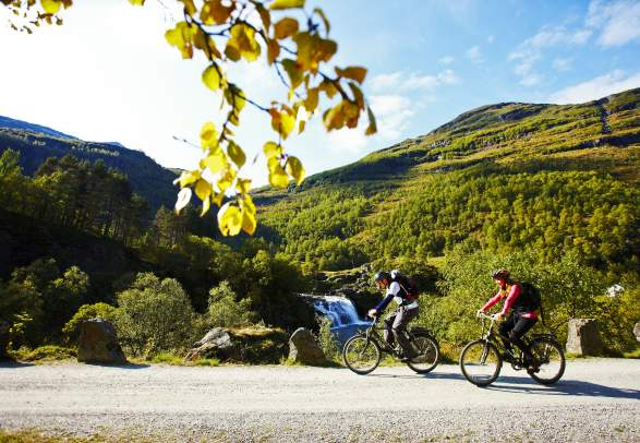 Cycling - Rallarvegen