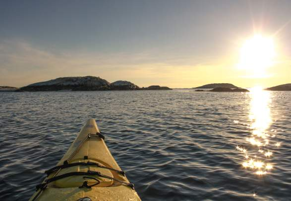 Kayaking in the Namdal archipelago