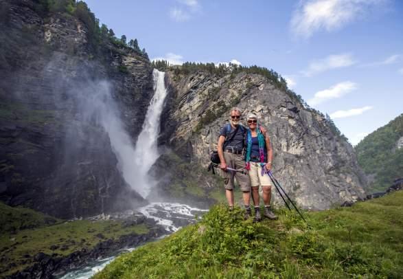 The Mardalsfossen Waterfall
