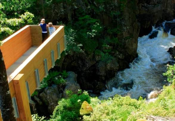 Kvåsfossen waterfall Lyngdal
