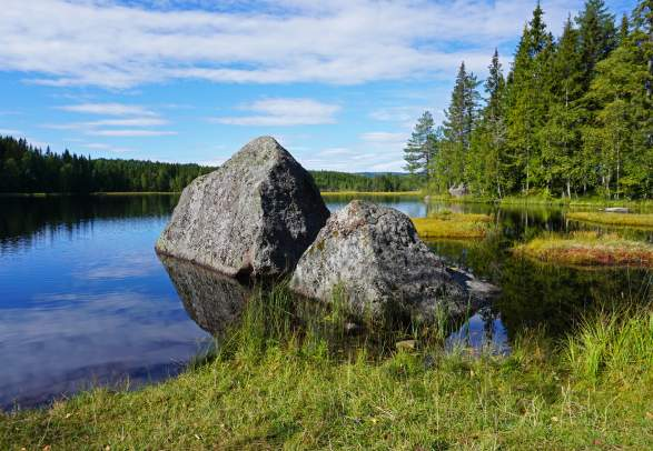 Nordmarka wilderness area