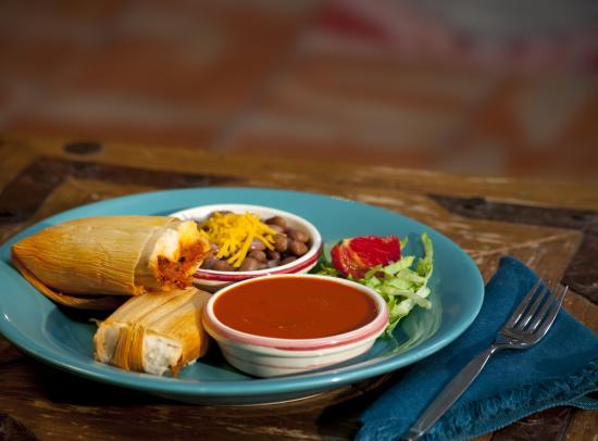 Tamales and Red Chile