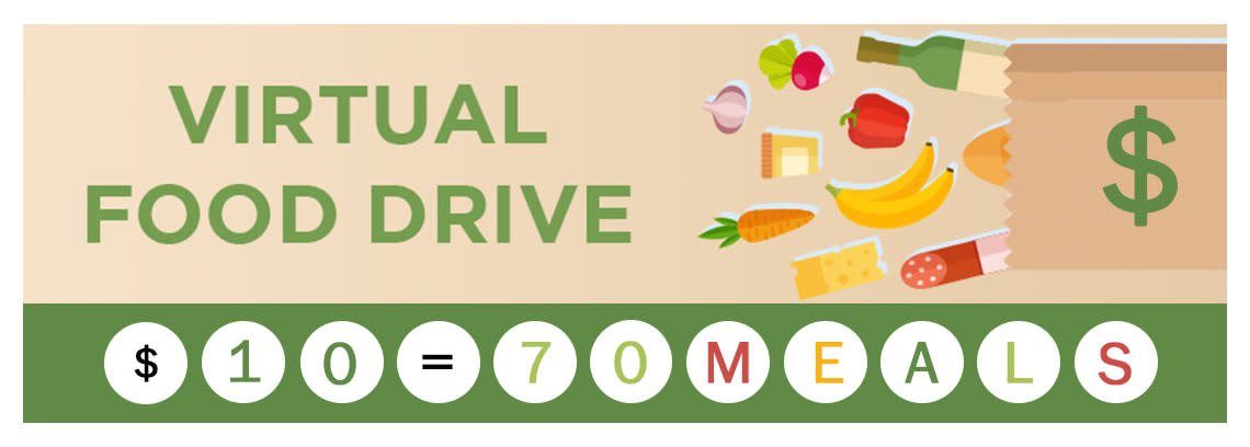 FIND Virtual Food Drive Banner