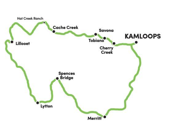 Peaks & Valleys Map