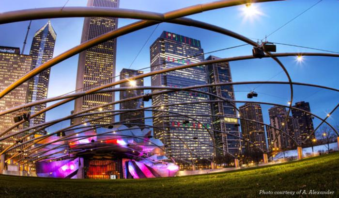 Pritzker Pavilion in Chicago