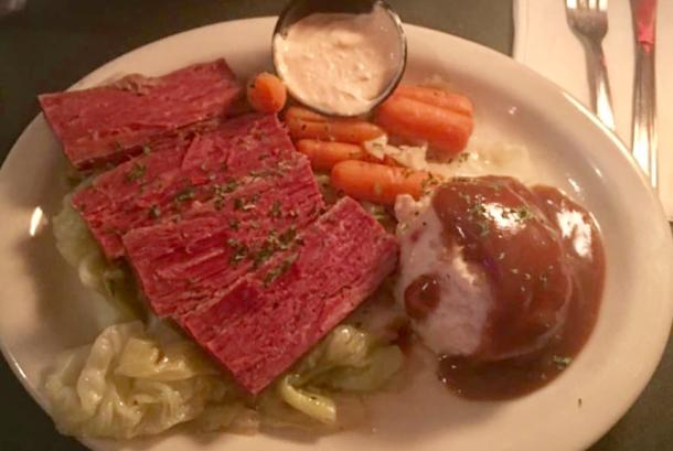 Corned Beef &Cabbage
