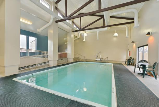 24 Hour Indoor Pool & Hot Tub