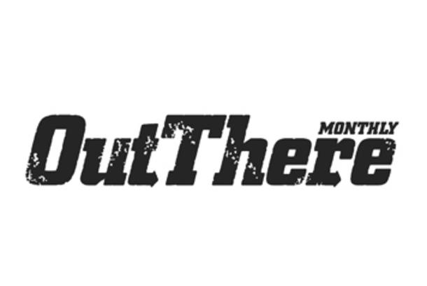 Out There Monthly Magazine Logo