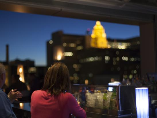 Enjoy an unmatched view on the 7th floor | credit olivejuicestudios.com