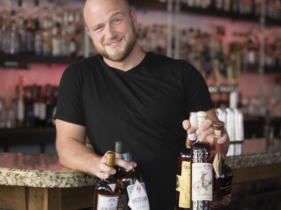 Over 400+ whiskeys on the menu | credit olivejuicestudios.com