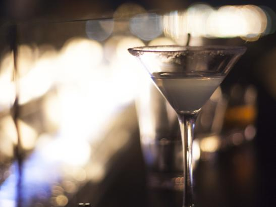 A signature Martini atop the roof | credit olivejuicestudios.com