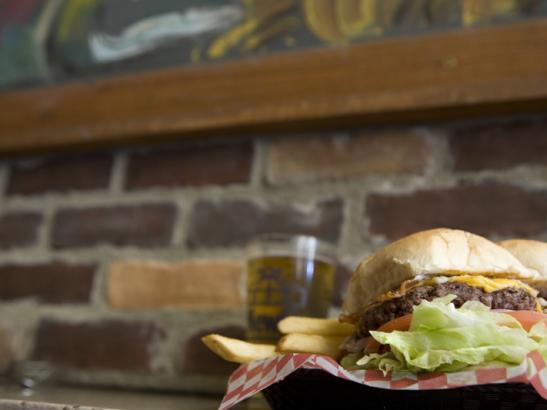 Voted Best Burgers since 2003   credit olivejuicestudios.com