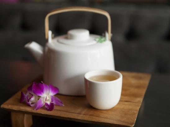 A pot of tea | credit olivejuicestudios.com