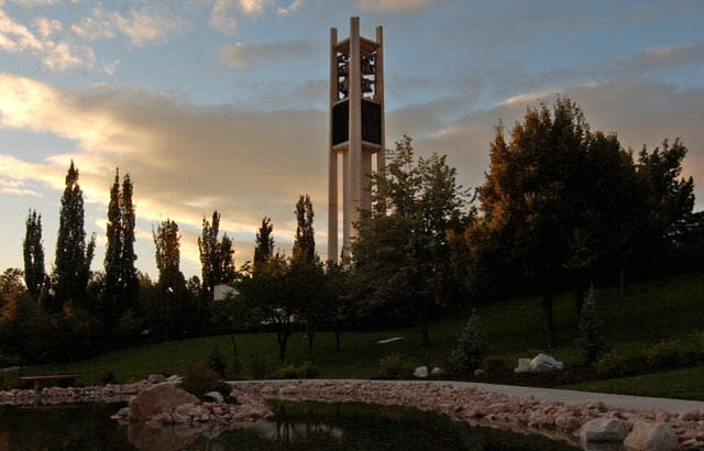 byu bell tower