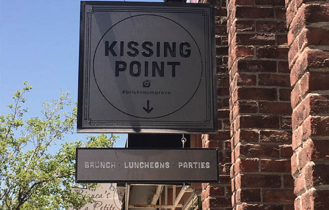 kissing point