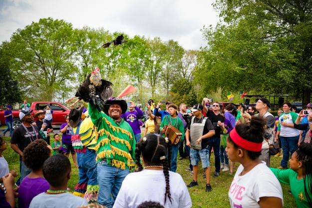 Iowa Chicken Run | Southwest Louisiana Mardi Gras