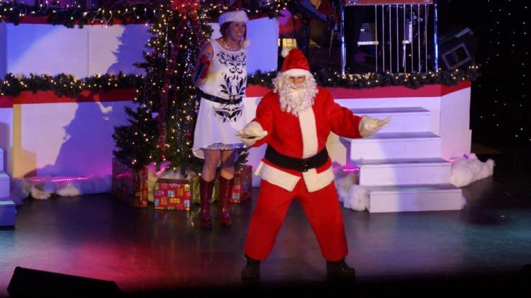 American Music Jubilee Santa