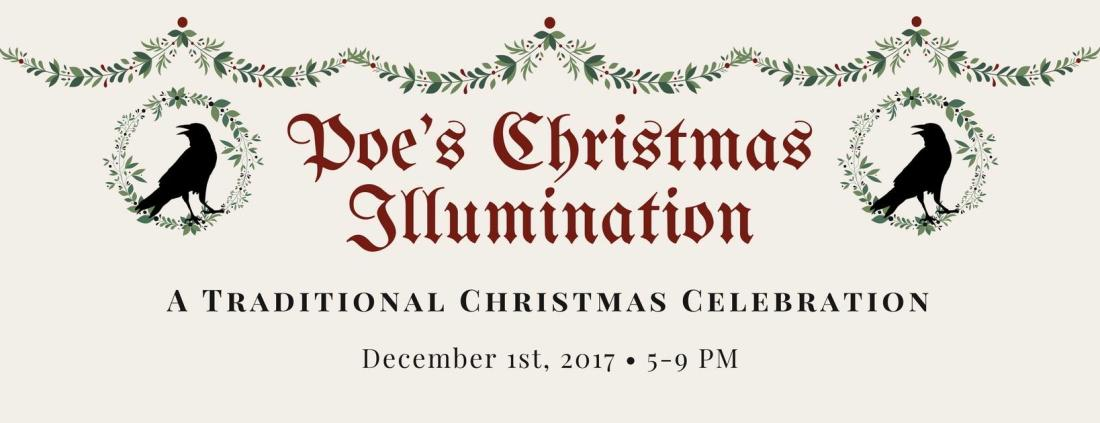 Poe Museum's Christmas Illumination