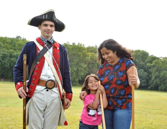 Valley Forge Park Family