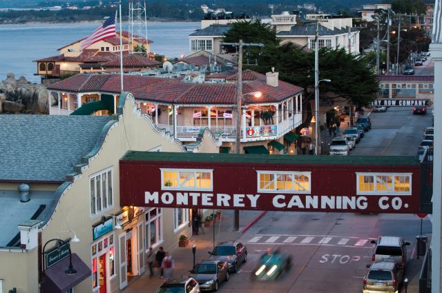 Coms_Cannery Row at Twilight