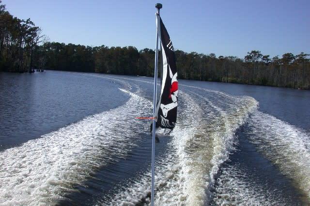 Sailing Flag River