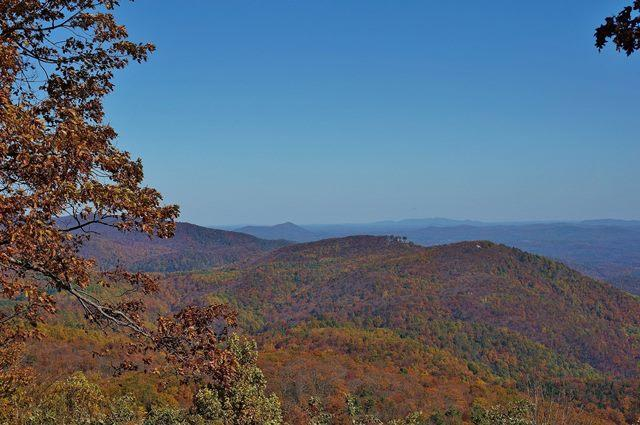 Fall Blue Ridge View - Fall Photo