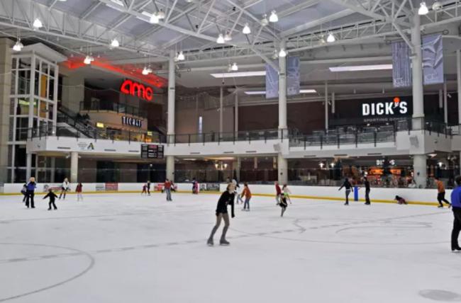 parks mall ice skating