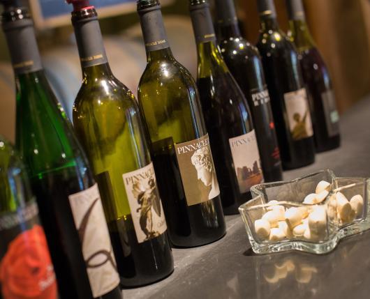 Pinnacle Ridge Winery - tasting flight