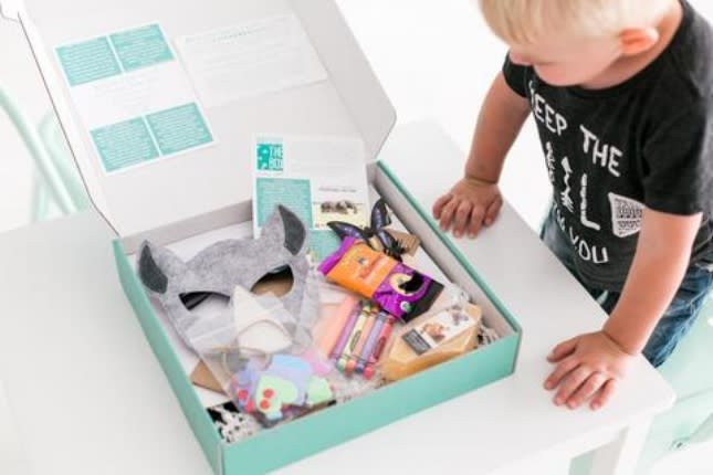 Cheeky box DIY for kids