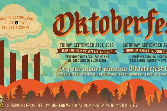 Oktoberfest Beer Pairing Dinner