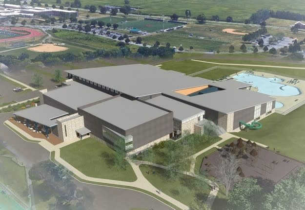 Derry Township Pool Rendering