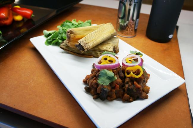 black bean tamales