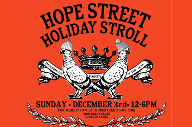 Hope Street Holiday Stroll