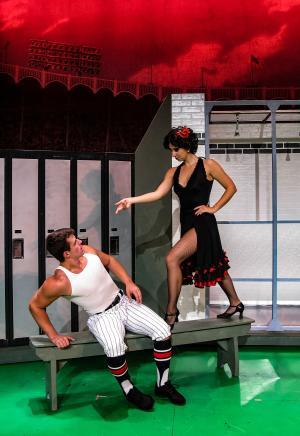 Damn Yankees at Woodstock Playhouse
