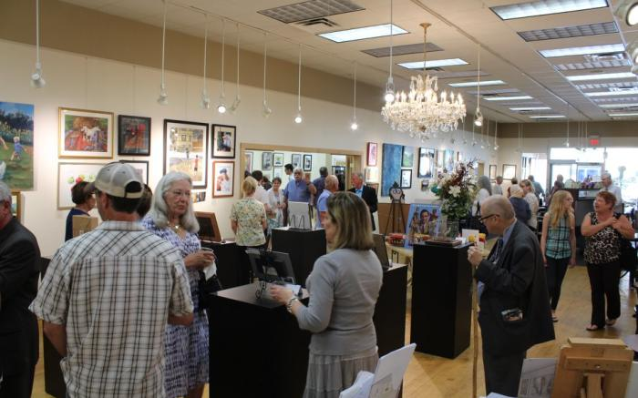 Opening Reception for an exhibition
