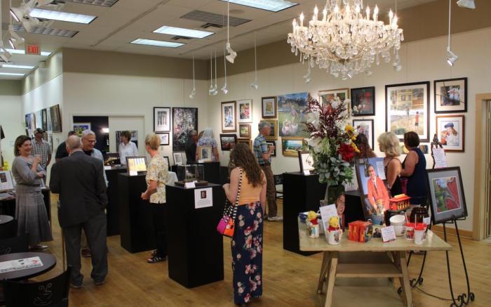 Main Gallery at Latrobe Art Center