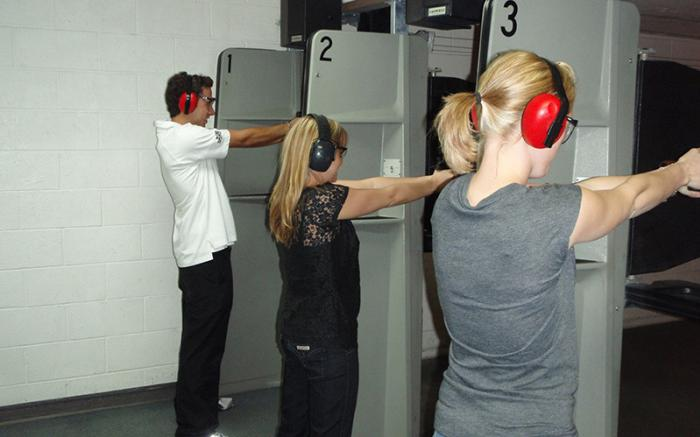 A & S Indoor Pistol Range