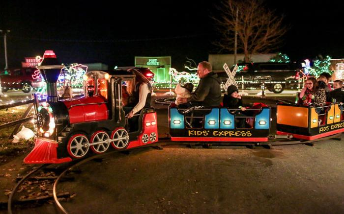 All Aboard the Kids' Express