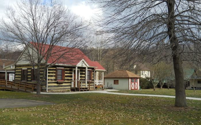 Nathaneal Greene Log Cabin