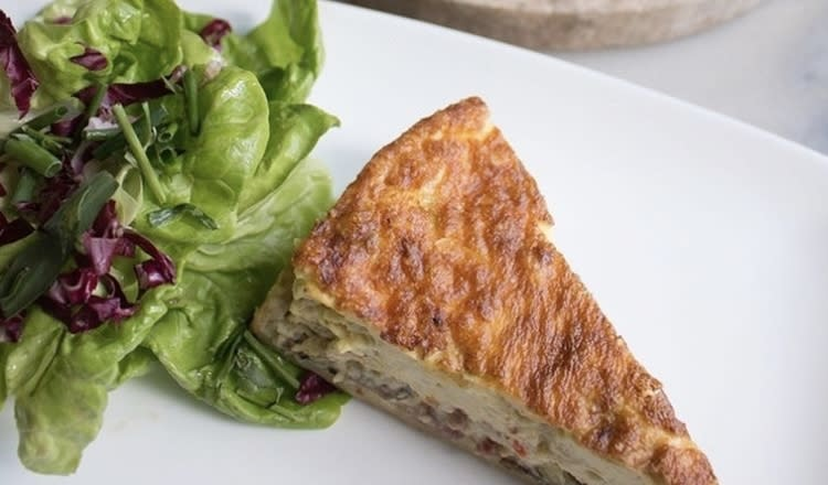 Quiche at Toulouse