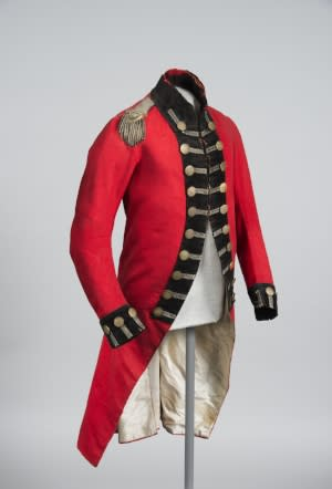 Lieutenant Jacob Schieffelin's Uniform Coat