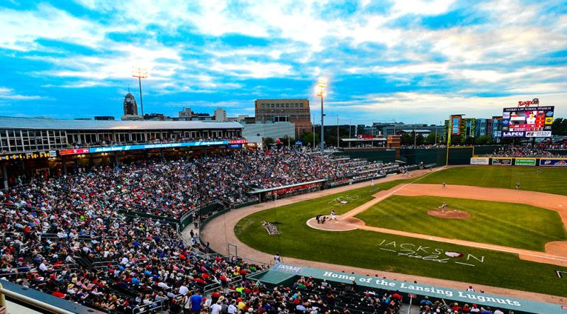 After the conference - Lugnuts game