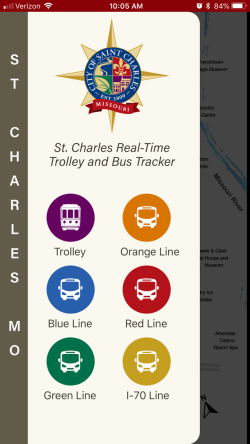 Ride Saint Charles App Open