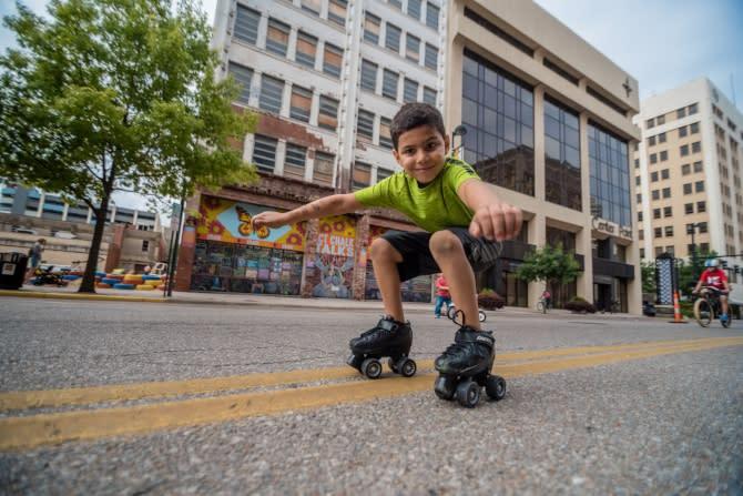 Blog Open Streets ICT - Rollerblade Kid