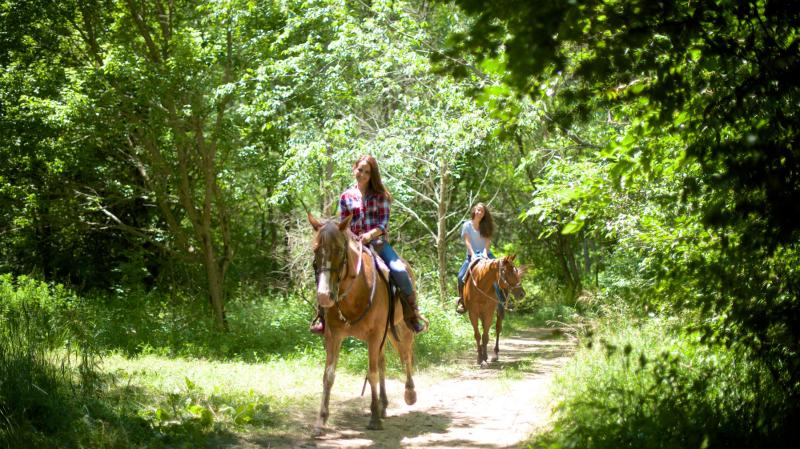 Horse Riding at Natural Valley Ranch in Hendricks County