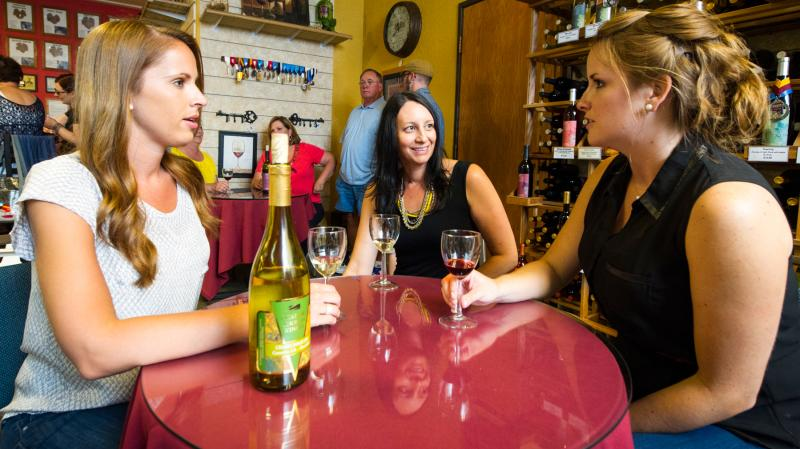 Chateau Thomas Winery Tasting Room